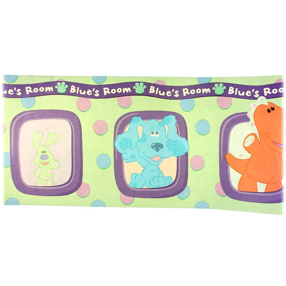 "Image of ""Blue's Clues Wall Boarder, size 5 yrds"""