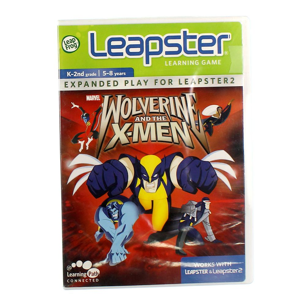 Image of Leapster Learning Game: Wolverine and the X-Men