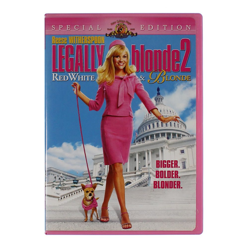 """""Movie: Legally Blonde 2 - Red, White & Blonde"""""" 1938244176"
