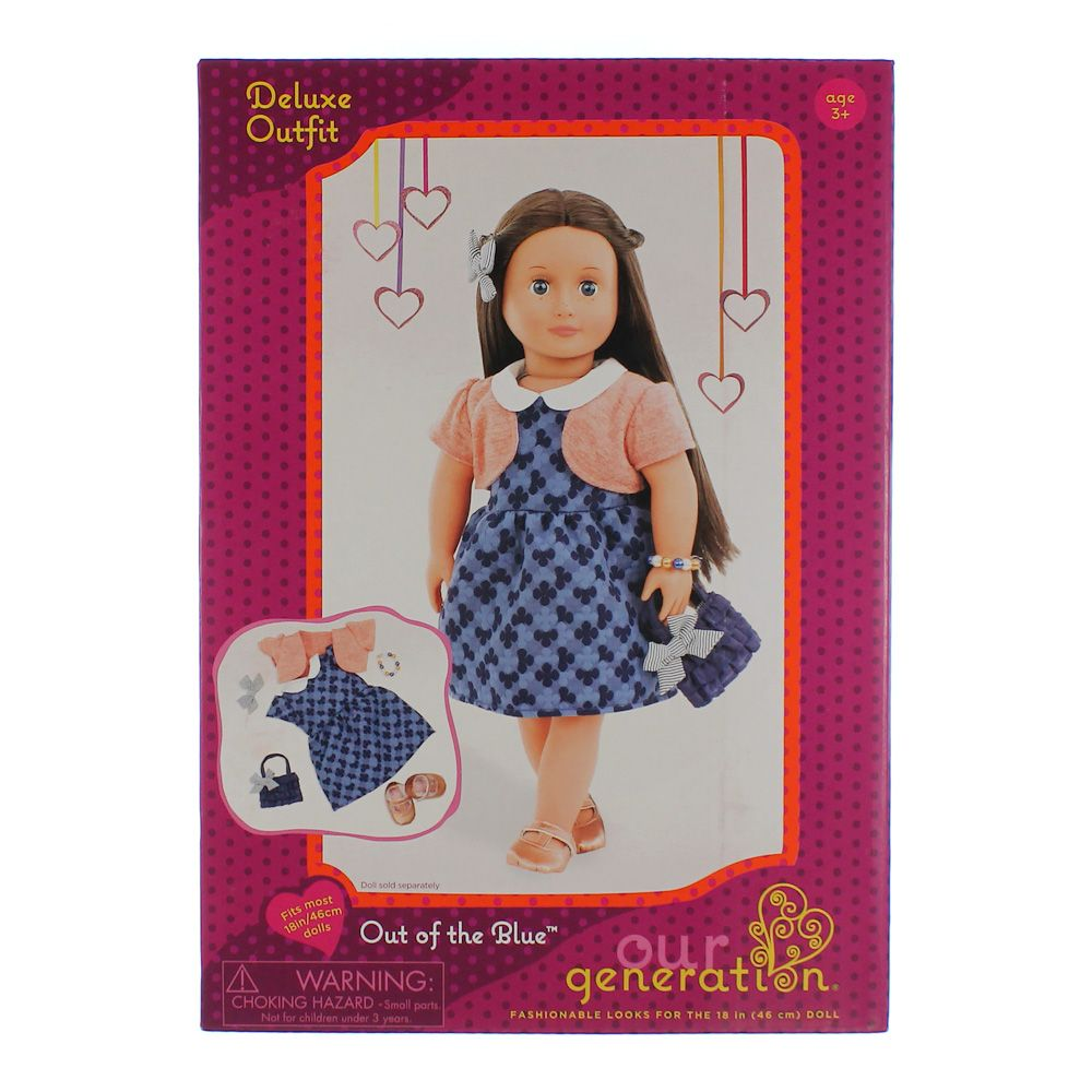 Out Of The Blue Doll Accessories Set 2043284176