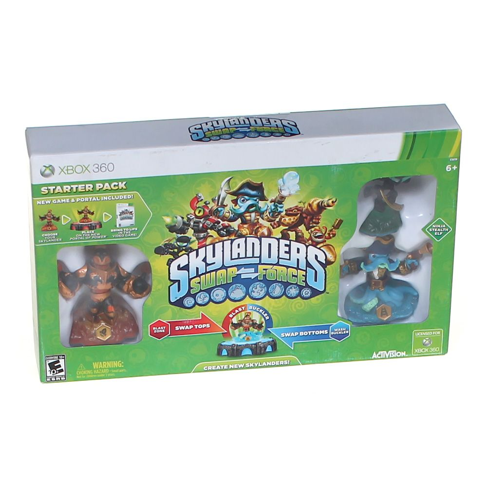 Video Game: Skylanders: SWAP Force Starter Pack 2066914551