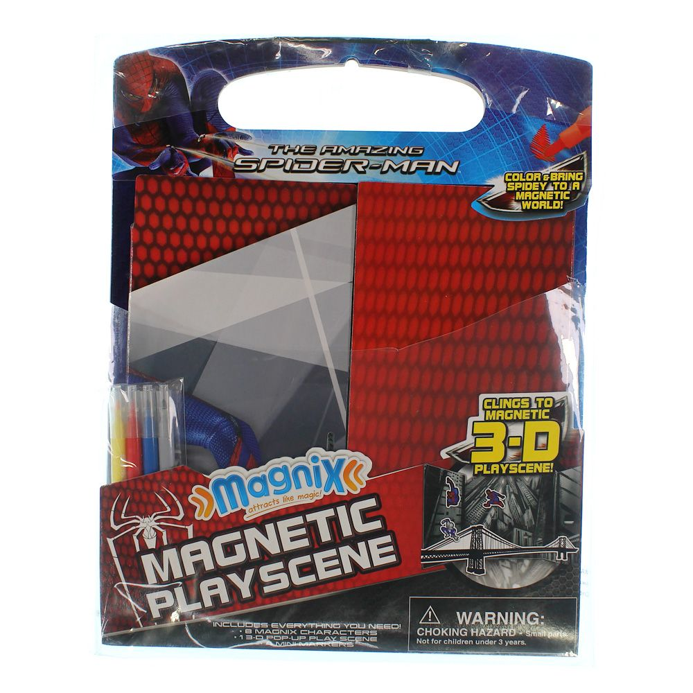 The Amazing Spider-Man Magnetic Play Scene 2072984225