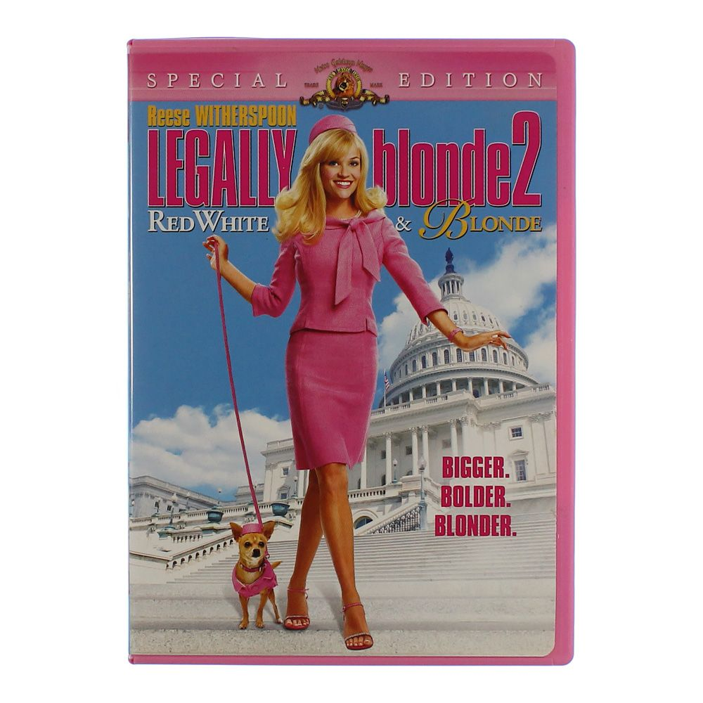 """""Movie: Legally Blonde 2 - Red, White & Blonde"""""" 2086675174"