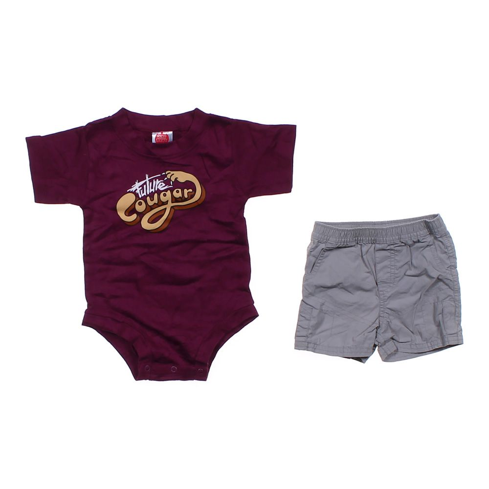 """""""""""""Future Cougar"""""""" Outfit, size 6 mo"""""" 2110784134"