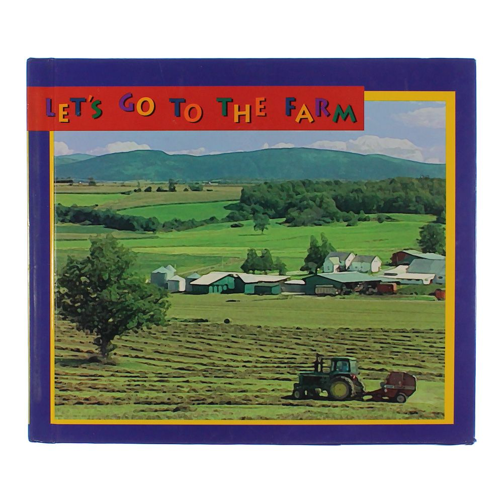 Book: Let's Go To The Farm 2143664175