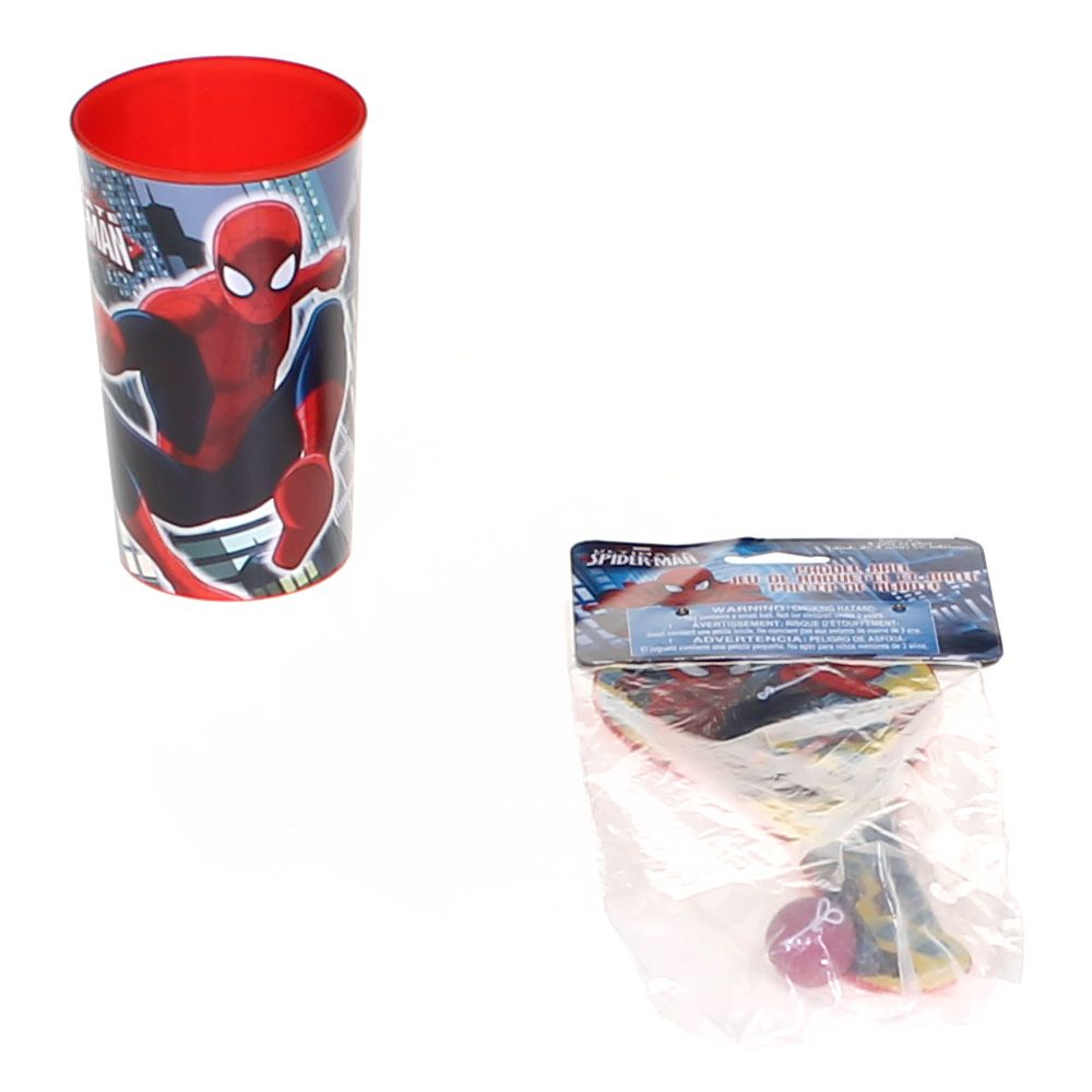 Spider-Man Cup & Paddle Ball Set 2152694025