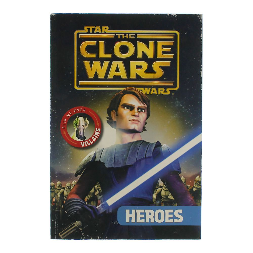 Book: Star Wars The Clone Wars Heroes & Villains 2209414226