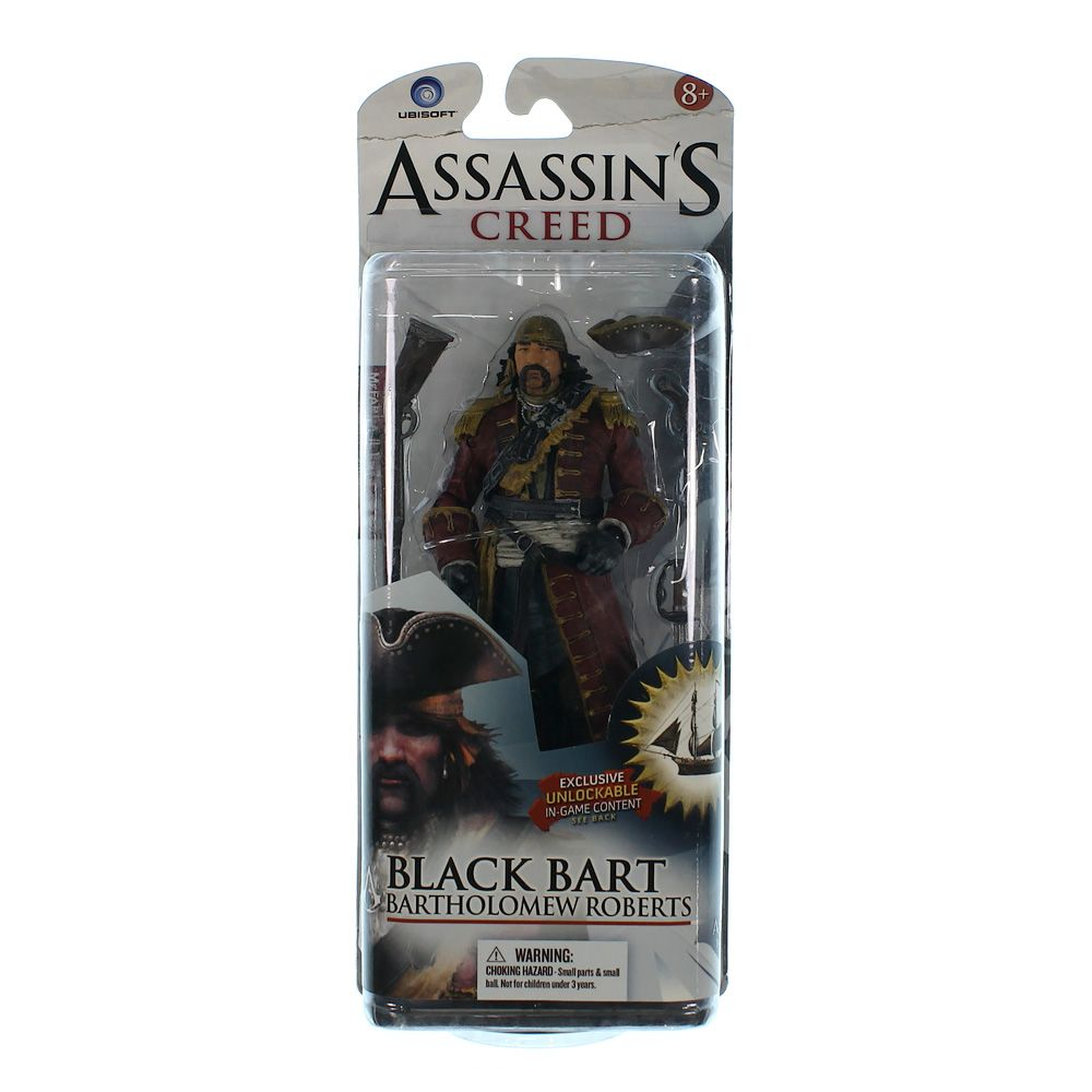 Assassin's Creed Black Bart Action Figure 2721134147