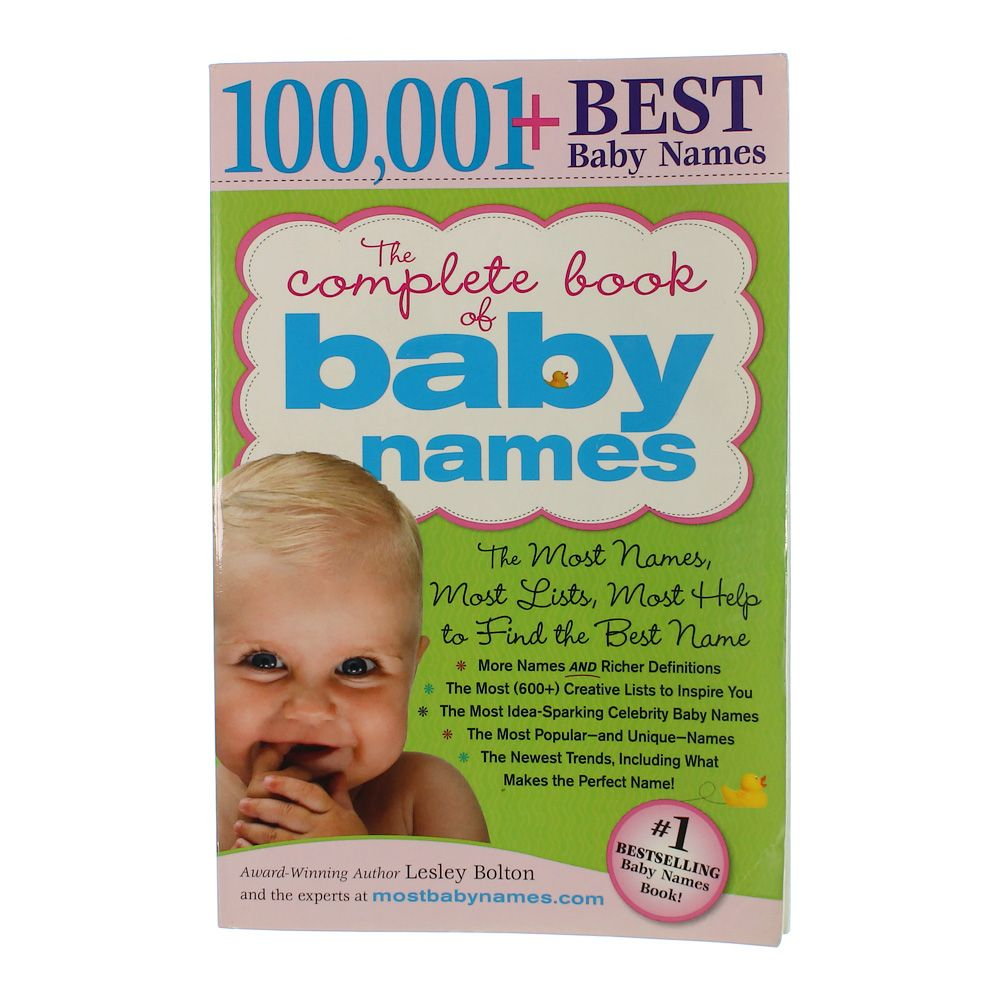 "Image of ""100,001+ BEST Baby Names"""