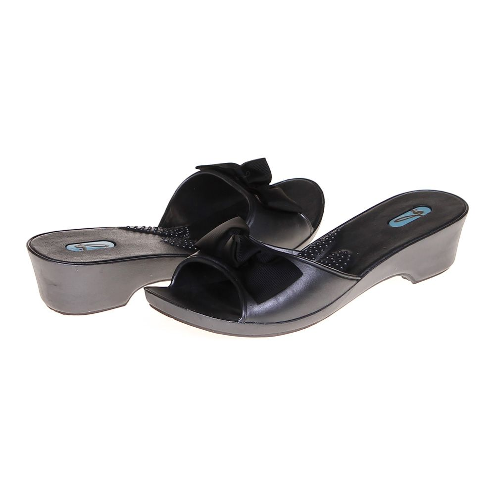 Bow Accented Slip-ons Size 8 Womens