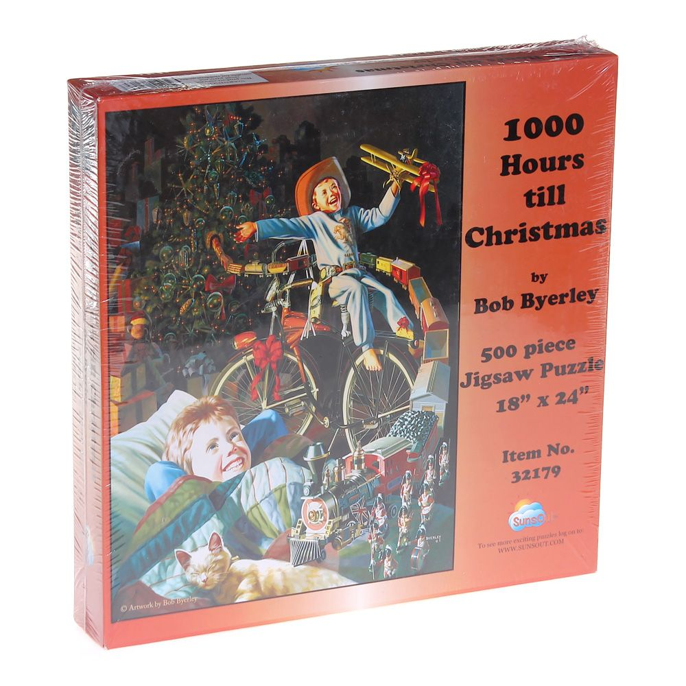 Image of 1000 Hours Till Christmas Puzzle