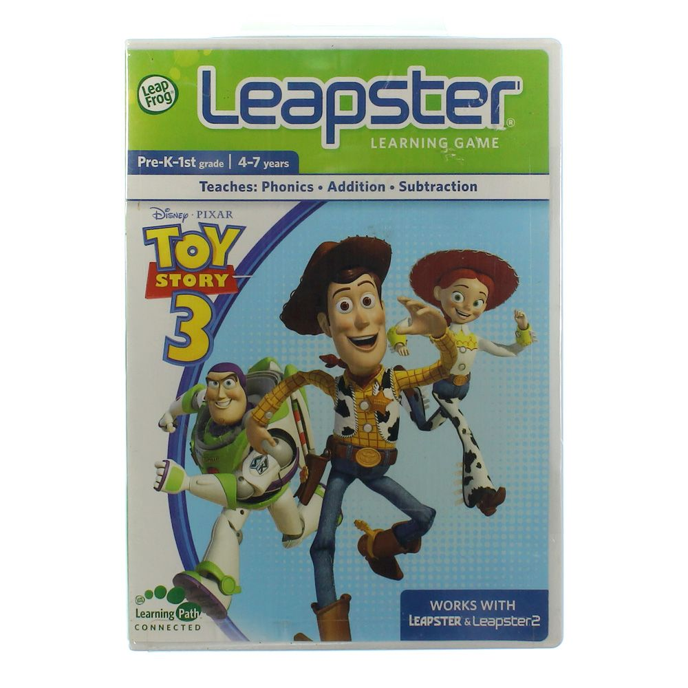 Image of Leapster Learning Game: Toy Story 3