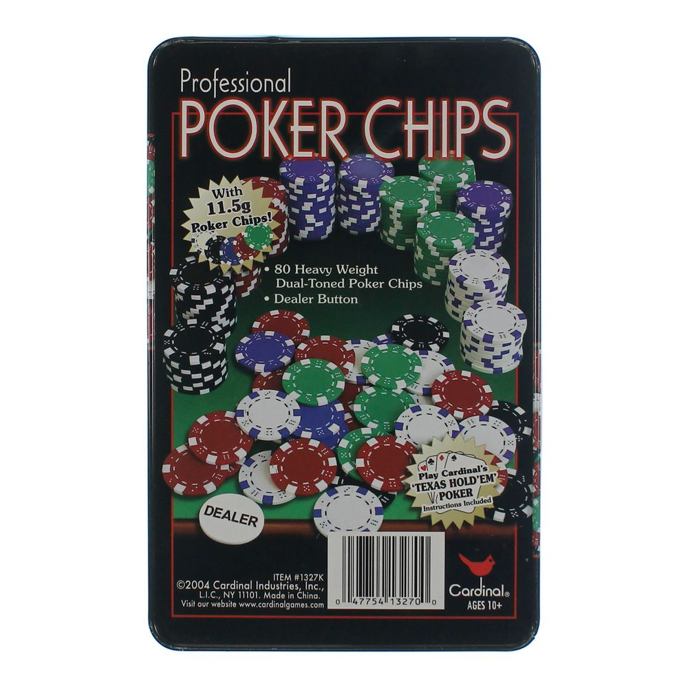 Image of Game: Professional Poker Chips