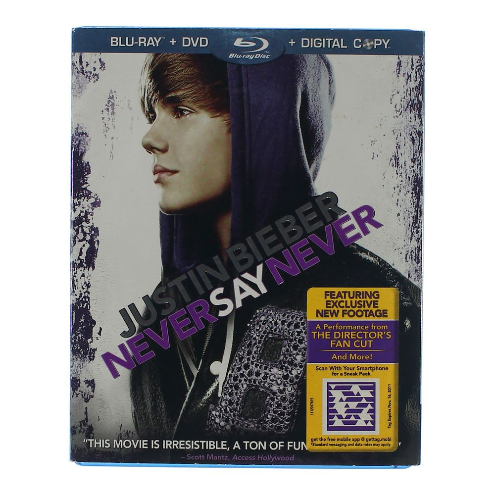 Movie: Justin Bieber Never Say Never 3006014934