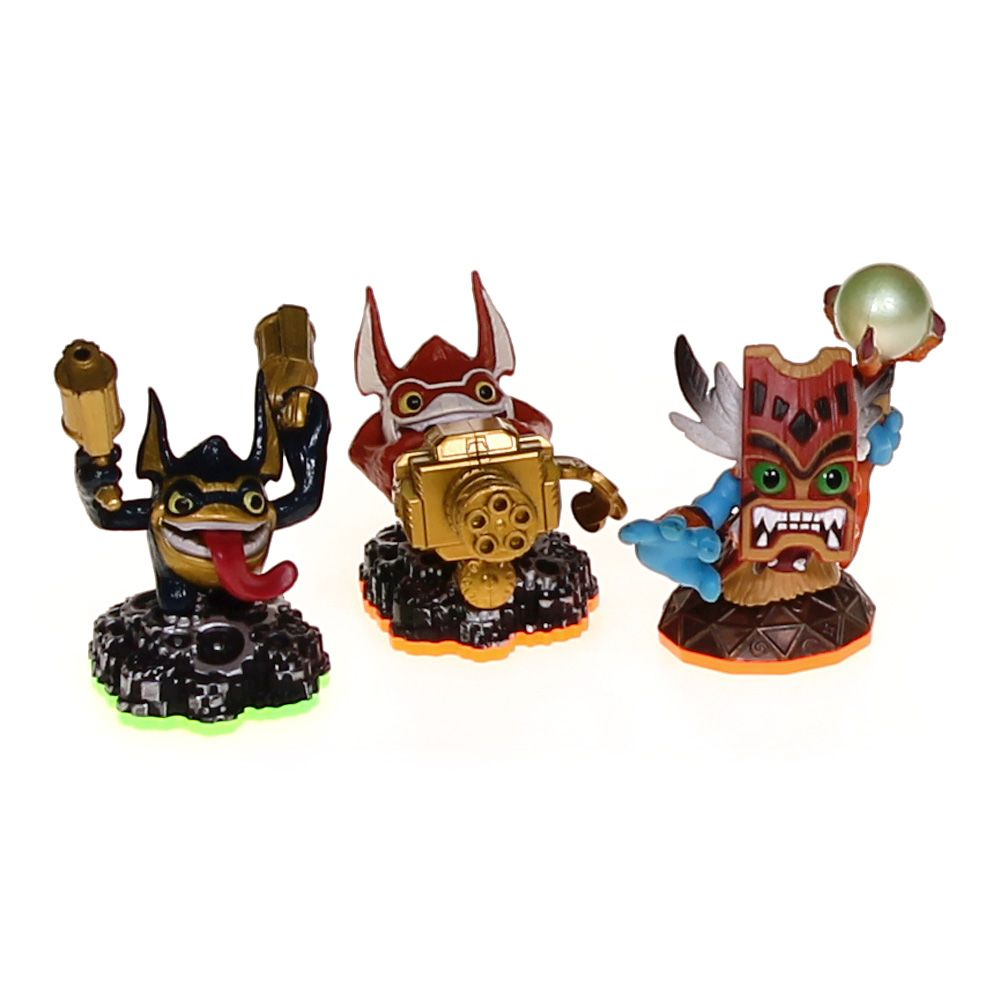 Assorted Skylanders Action Figure Set 3049594441