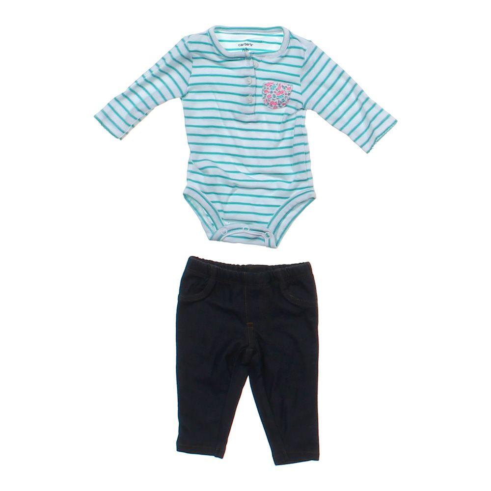 """""Striped Bodysuit & Leggings Outfit, size NB"""""" 3144044231"