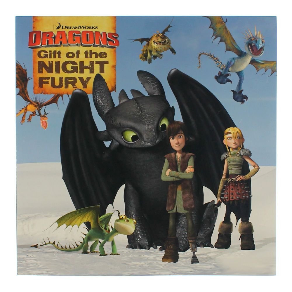 Book: Dragons Gift of the Night Fury 3197444357