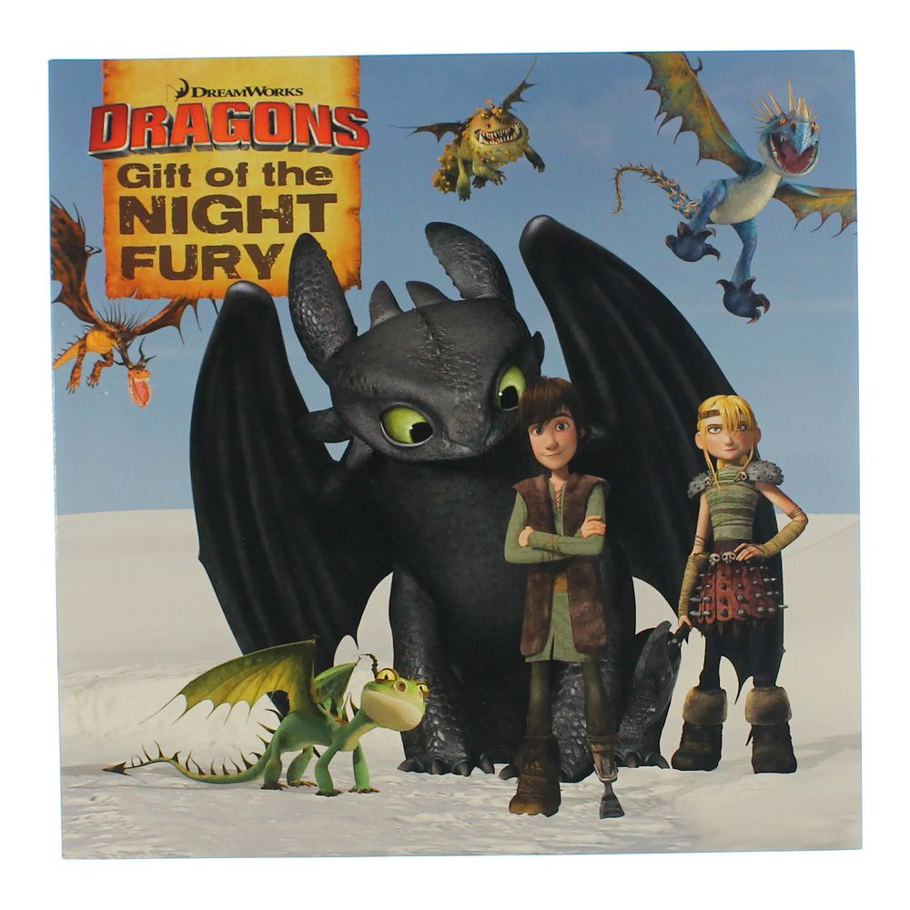 Book: DreamWorks Dragons Gift Of The Night Fury 3198624071