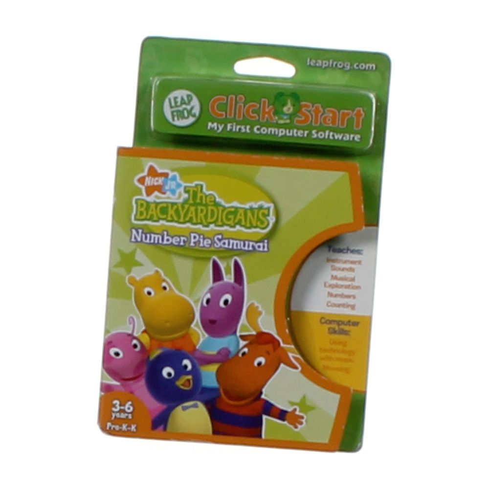 Image of Click Start Learning Game: The Backyardigans Number Pie Samurai