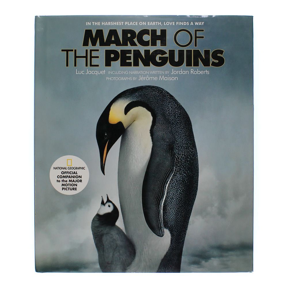 Book: March of the Penguins 3437594712