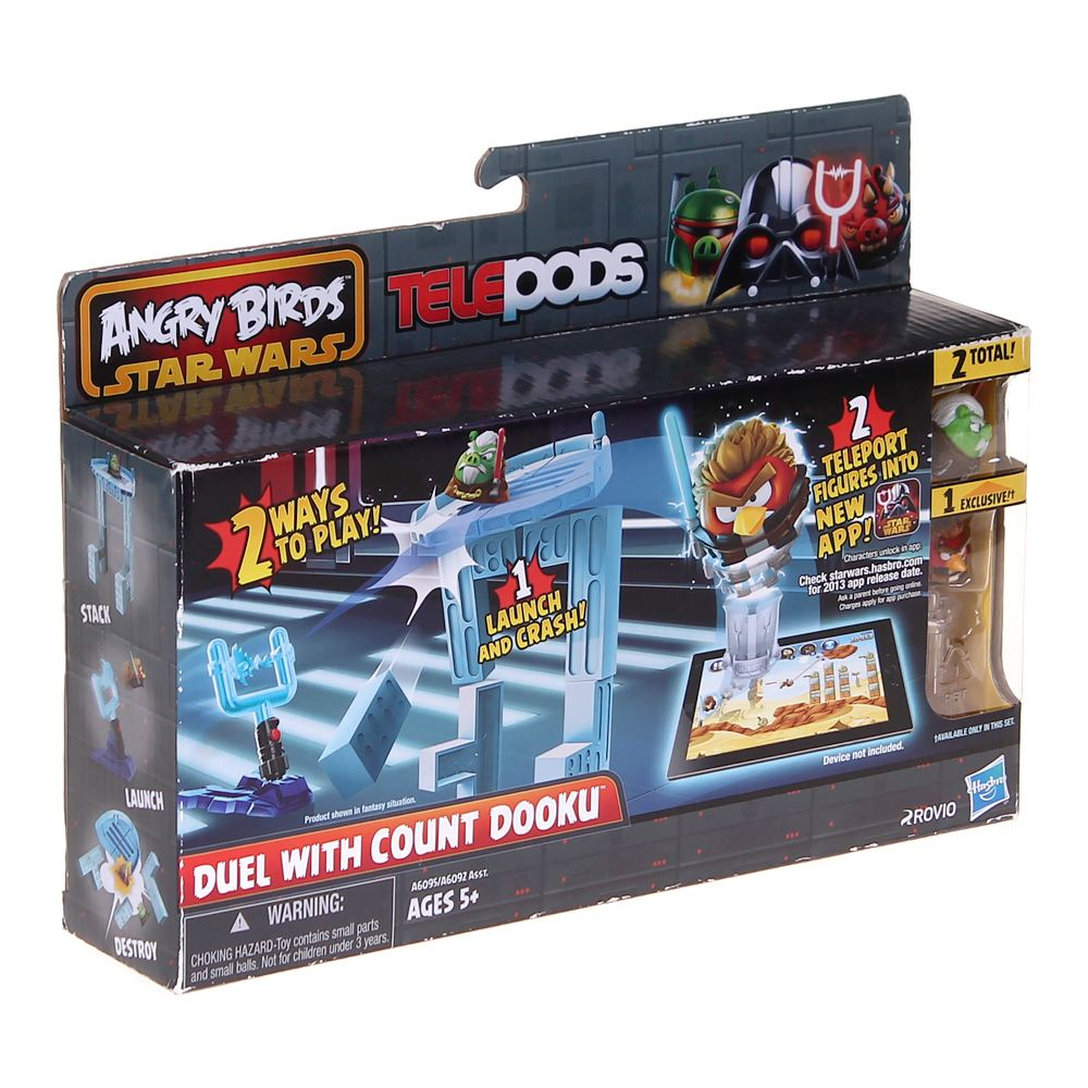 Video Game: Angry Birds Star Wars Telepods - Duel with Count Dooku Set 3447014164