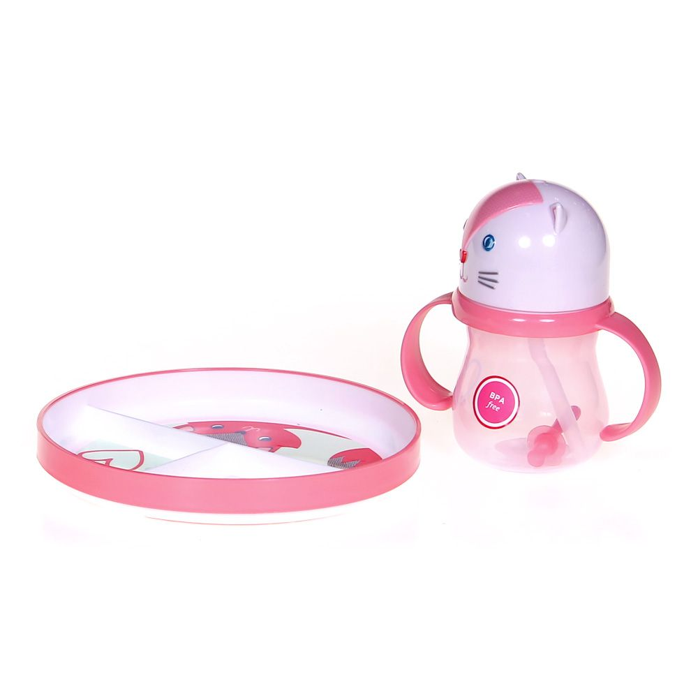 Plate & Sippy Cup Set 3534635319