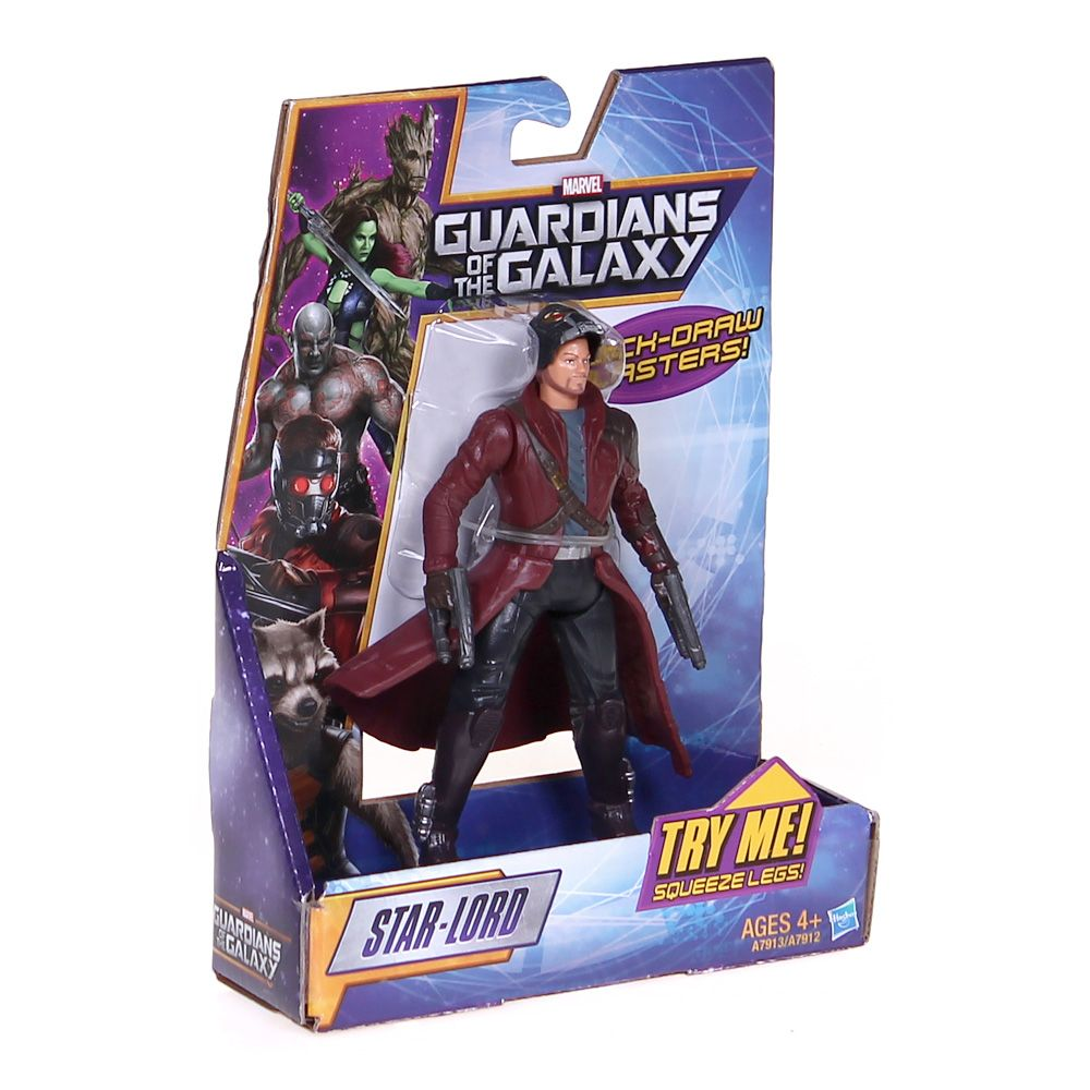 Guardians of the Galaxy Galactic Battlers Star-Lord Figure 3596134064