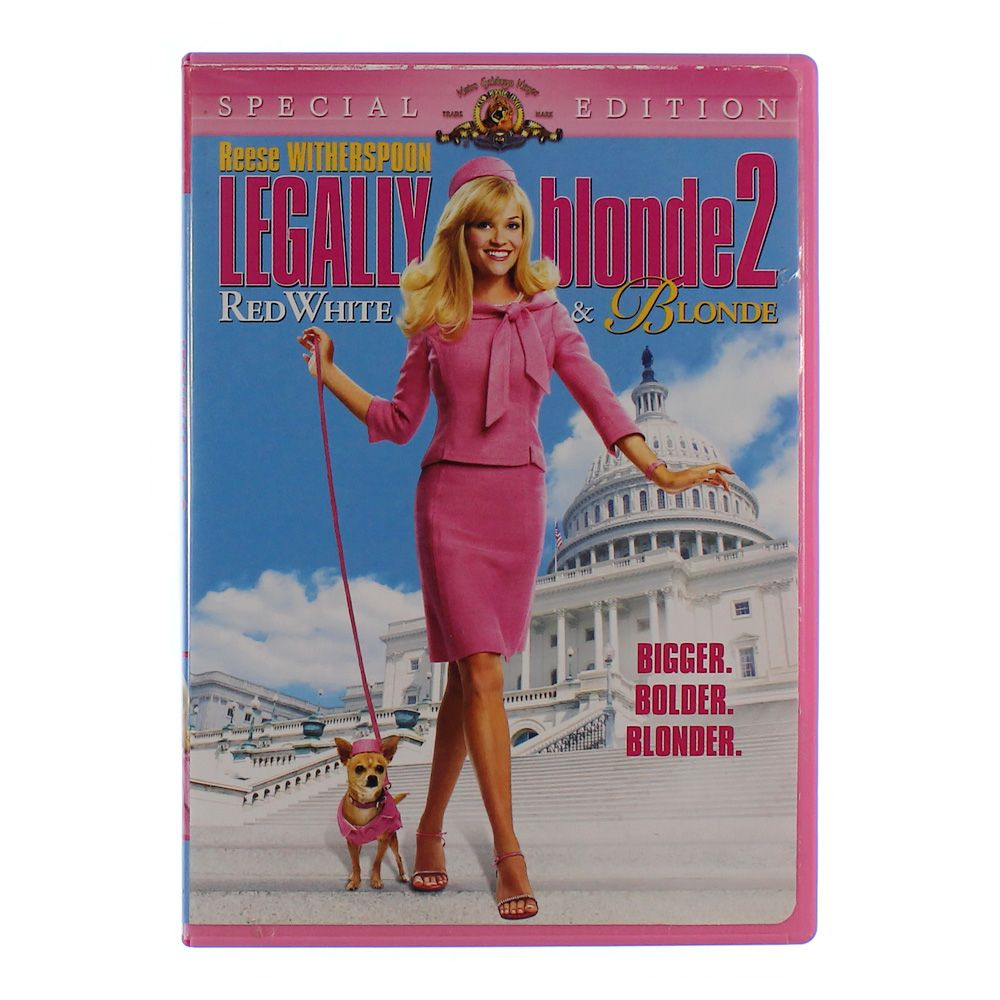 """""Movie: Legally Blonde 2 - Red, White & Blonde (Special Edition)"""""" 3700788976"
