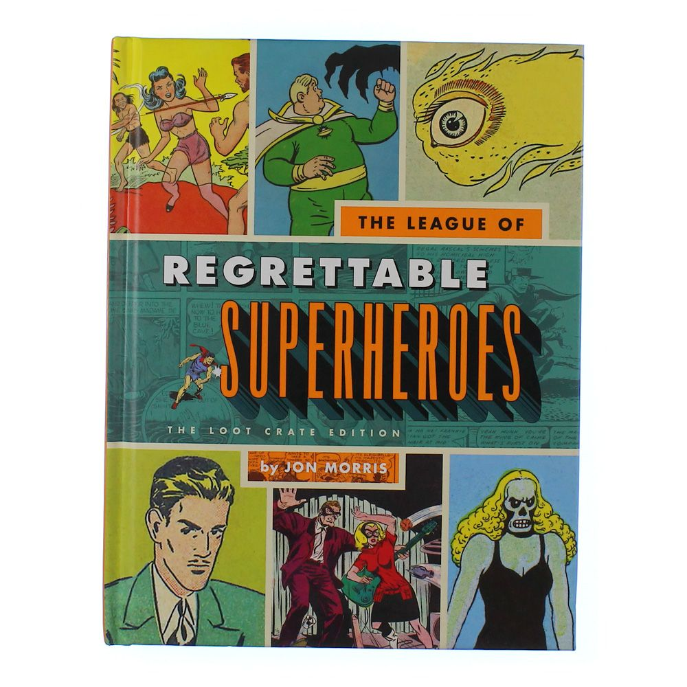 Book: The League of Regrettable Superheroes 3711074296
