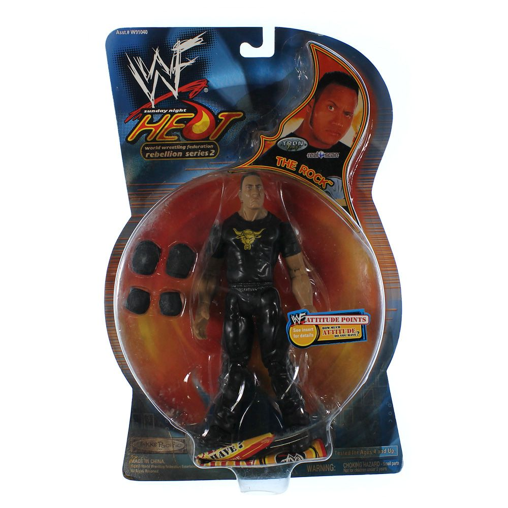 Action Figures The Rock 3715684054