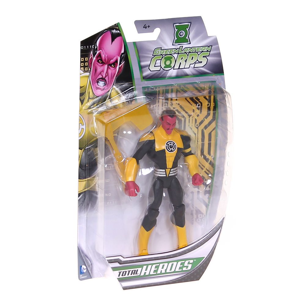 Total Heroes- Sinestro Action Figure 3709176138