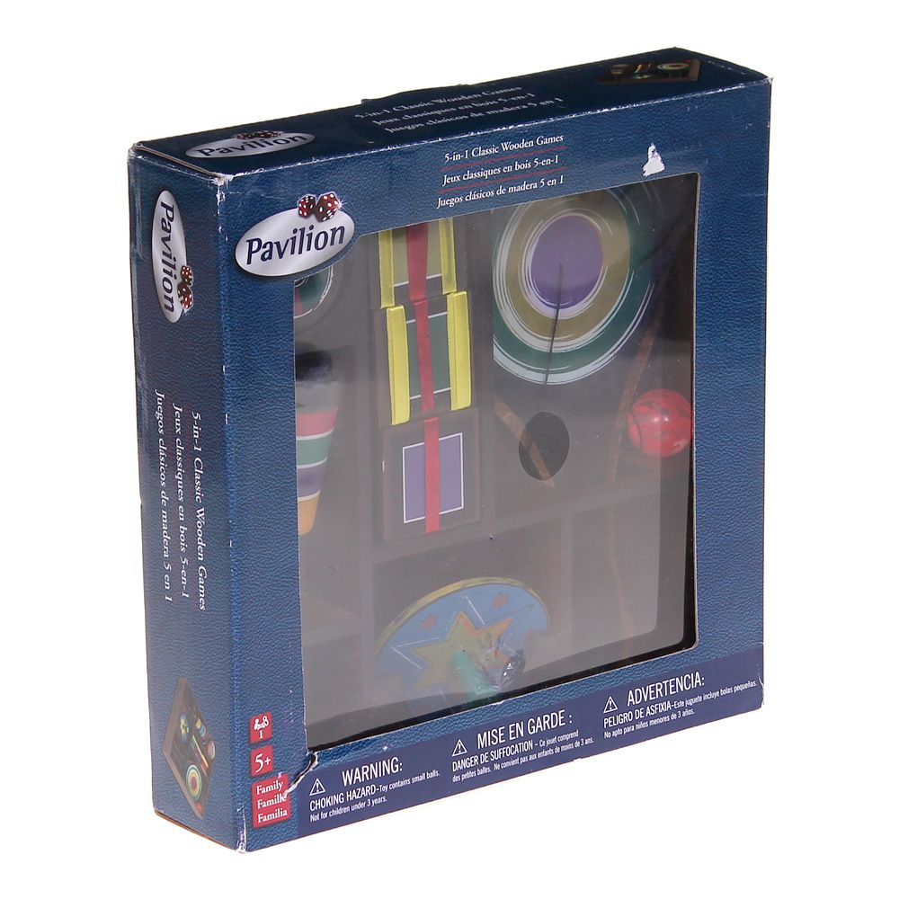 Image of Game: Classic Wooden Games Set