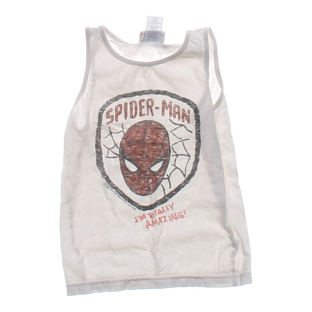"""""""""""""Spider-Man"""""""" Tank Top, size 4/4T"""""" 3894365261"