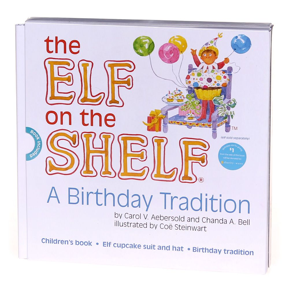 Book: The Elf On The Shelf: A Birthday Tradition