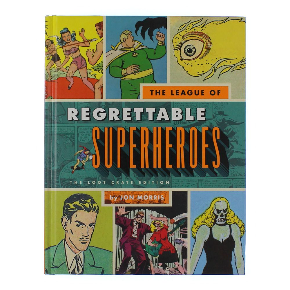Book: The League of Regrettables Superheroes 3936194928