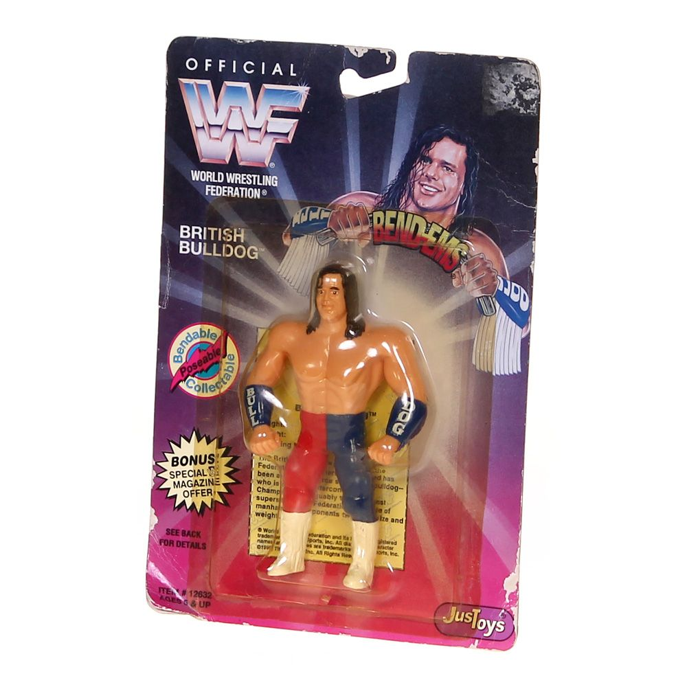 British Bulldog Action Figure 3936724067