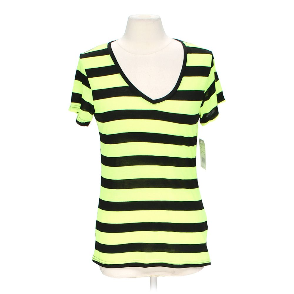 """""Striped V-neck Tee, size L"""""" 3970204701"