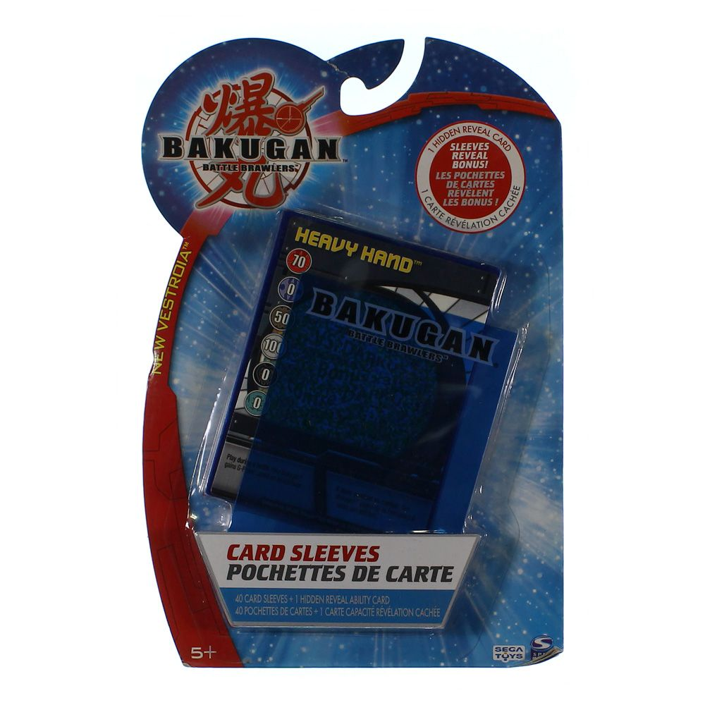 Image of Game: Bakugan Battle Brawlers Card Sleeves