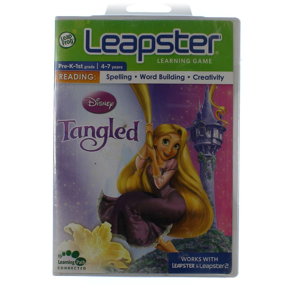 Leapster Learning Game: Disney Tangled 4032104425