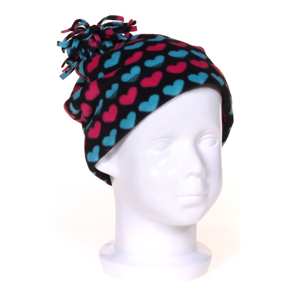 """""Heart Print Hat, size One Size"""""" 4046195048"