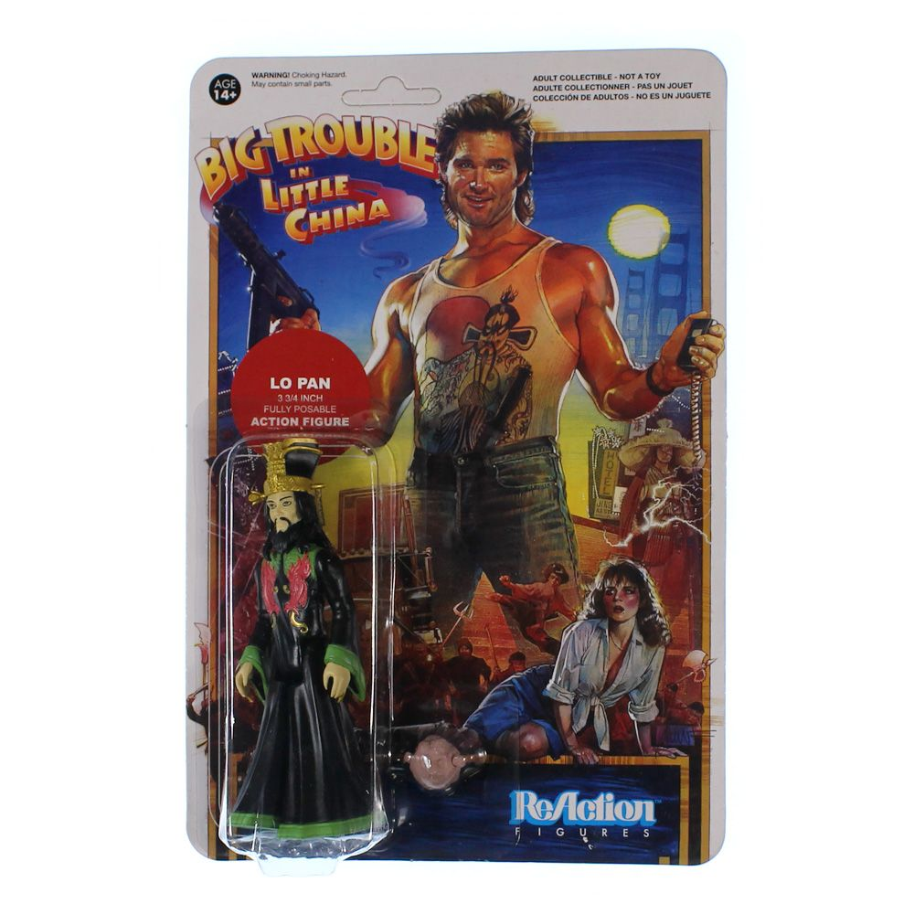 Big Trouble in Little China Lo Pan Action Figure 4049055192