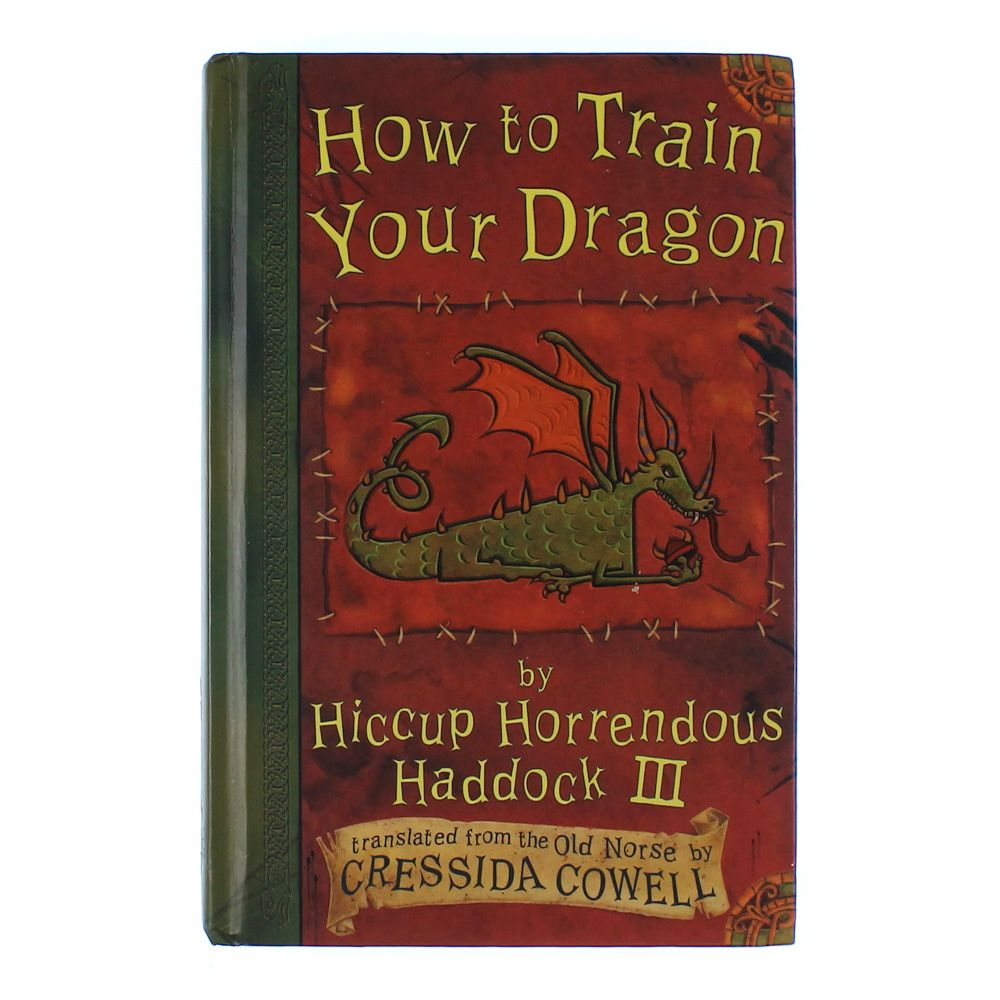 Book: How to Train Your Dragon 4050827135