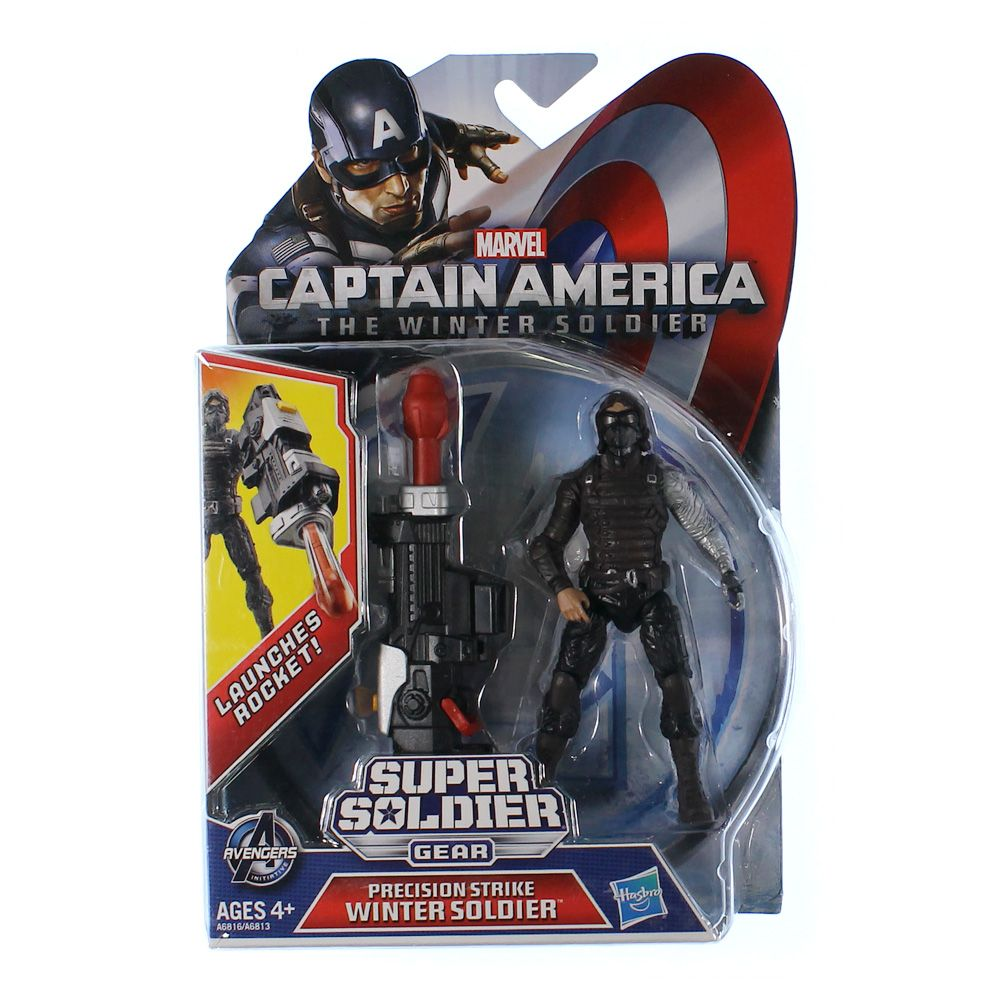 Marvel Captain America Super Soldier Gear Precision Strike Winter Soldier Action Figure 4082544611
