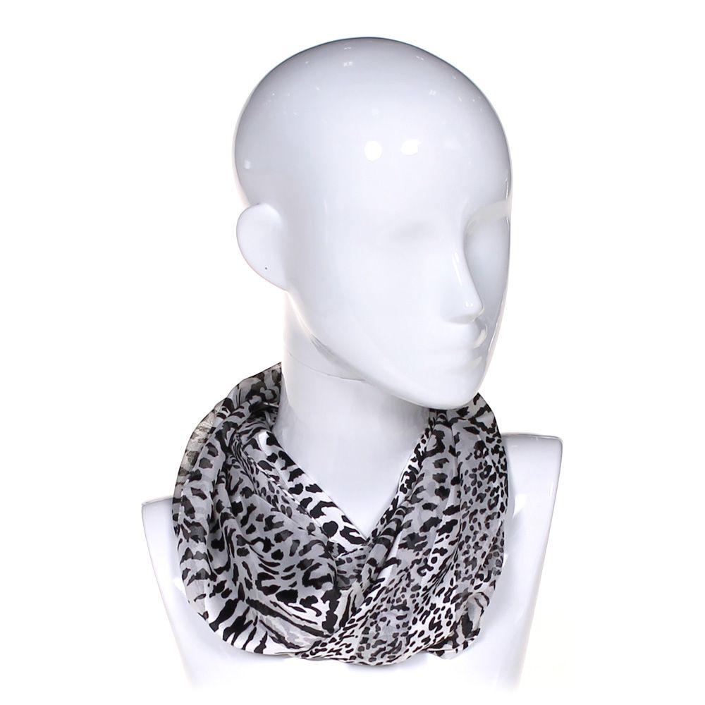 "Image of ""Animal Print Scarf, size One Size"""