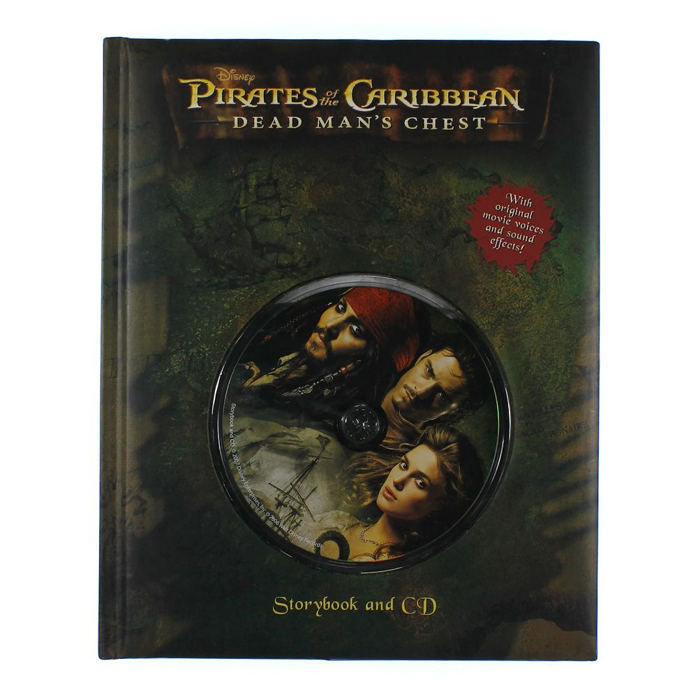 Book: Pirates Of The Caribbean Dead Man's Chest 4184144568