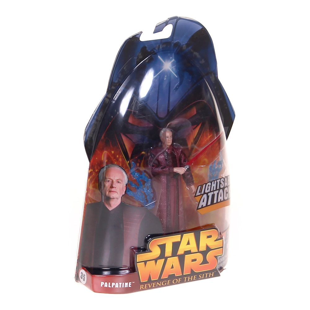 """""Palpatine """"""""Lightsaber Attack!"""""""" Action Figure"""""" 4193704889"