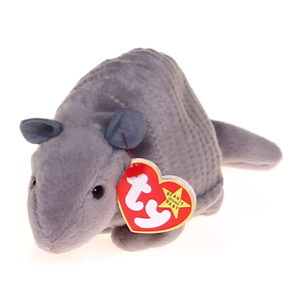 c90605c49d1 008421040315 UPC - Ty Beanie Babies Tank The Armadillo  Toy