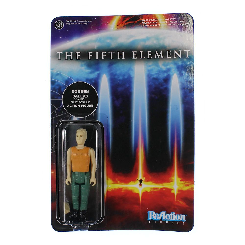 The Fifth Element: Korben Dallas Action Figure 4204654848