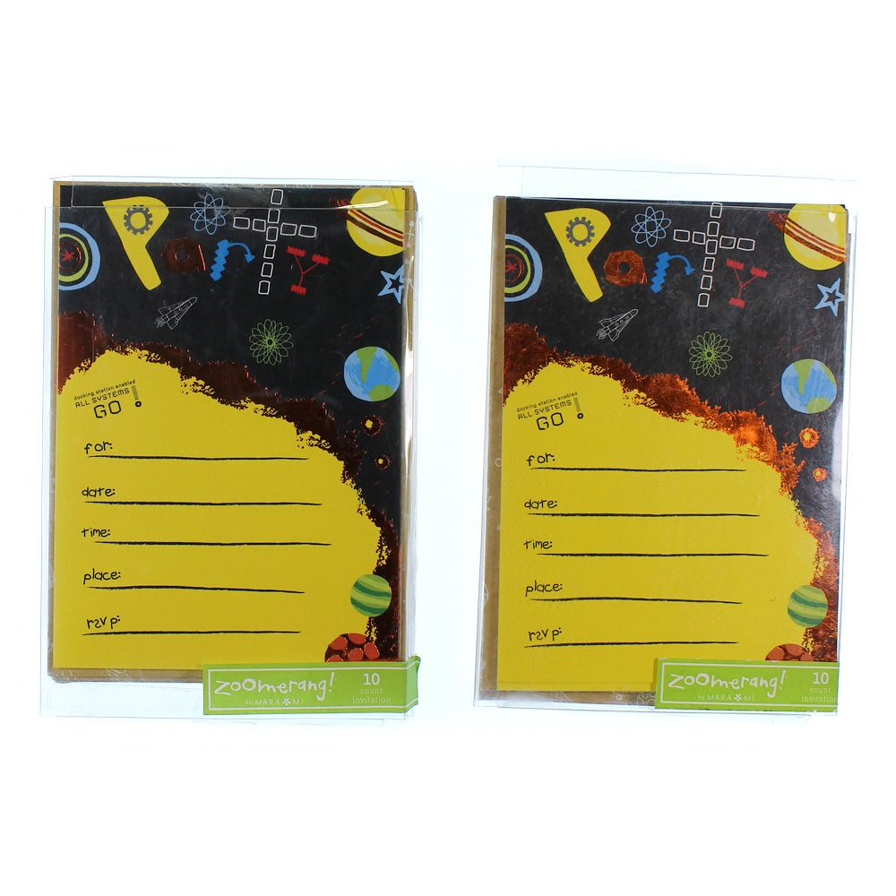 Birthday Party Invitations 4250704696