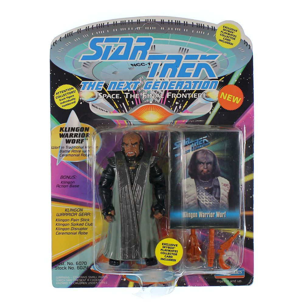 Star Trek The Next Generation: Klingon Warrior Wolf Action Figure 4270148610